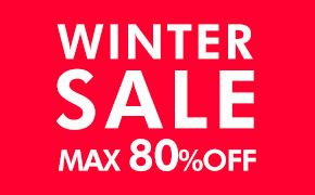 WINTER SALE MAX 80%OFF